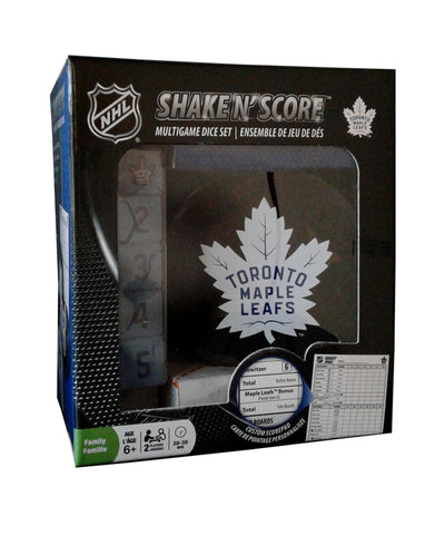 TORONTO MAPLE LEAFS NHL SHAKE N SCORE BOARD GAME