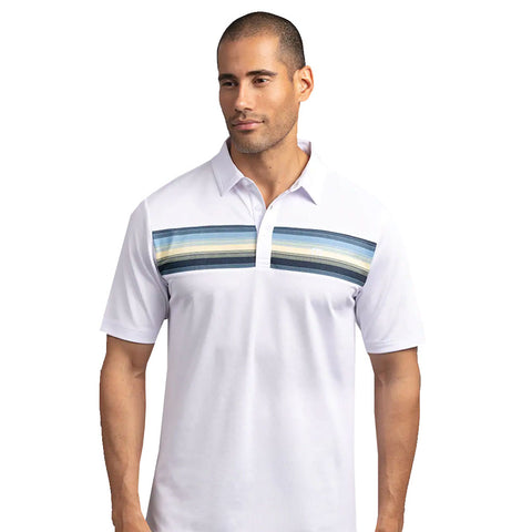 TRAVISMATHEW MEN'S THAT'S THE ONE POLO - WHITE