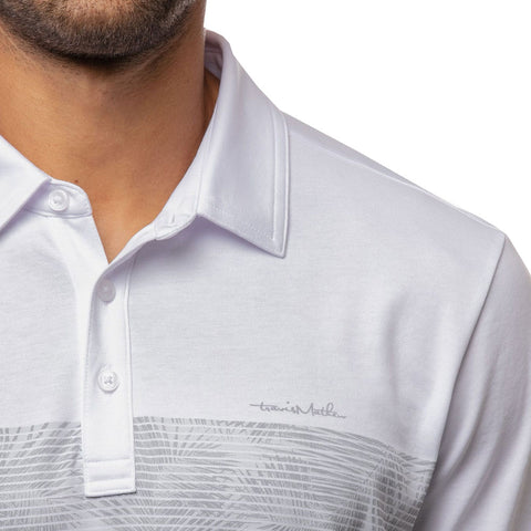 TRAVIS MATHEW MEN'S VIP ACCESS ONLY POLO - WHITE
