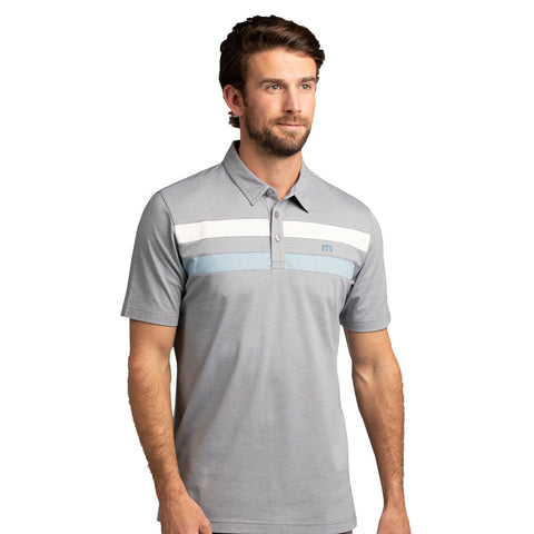 TRAVISMATHEW MEN'S POSTCARD HOME POLO - GREY
