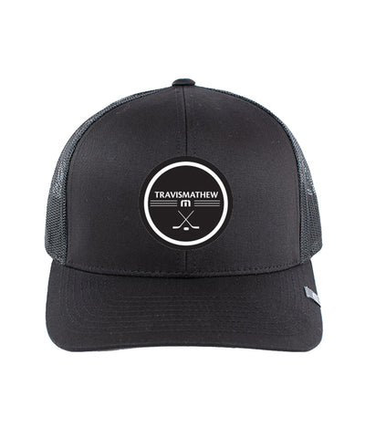 TRAVISMATHEW MEN'S FACEOFF HAT - BLACK