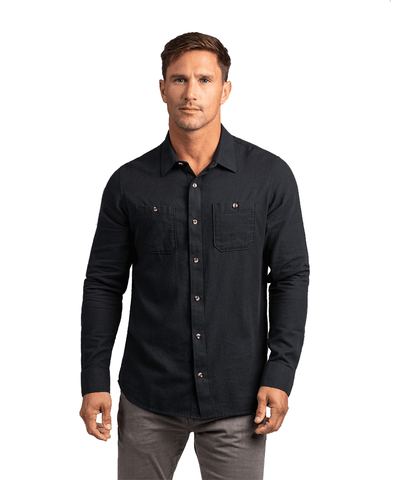 TRAVISMATHEW MEN'S HEFE BUTTON-UP SHIRT