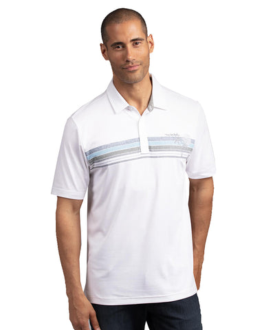 TRAVISMATHEW MEN'S QUITE A PIECE POLO - WHITE