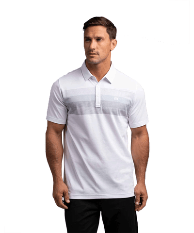 TRAVISMATHEW MEN'S UMBRELLA SHADE POLO