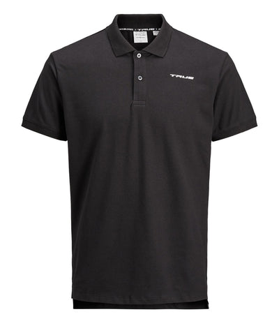 TRUE X JACK JONES MEN'S BELFAST POLO - BLACK