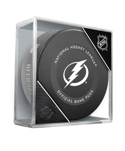 TAMPA BAY LIGHTNING 2019 OFFICIAL GAME PUCK