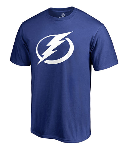 TAMPA BAY LIGHTNING FANATICS MEN'S PRIMARY LOGO T SHIRT