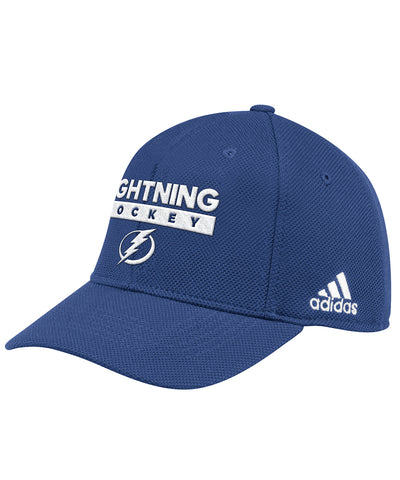 TAMPA BAY LIGHTNING ADIDAS OFFICIAL 2018 NHL PLAYOFFS CAP