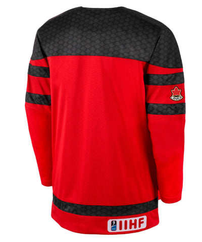 NIKE TEAM CANADA TWILL HOCKEY RED SR JERSEY