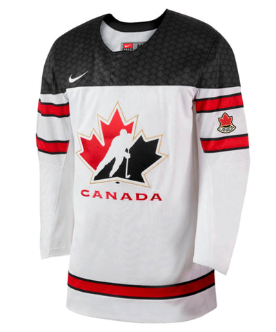 NIKE TEAM CANADA TWILL HOCKEY WHITE SR JERSEY
