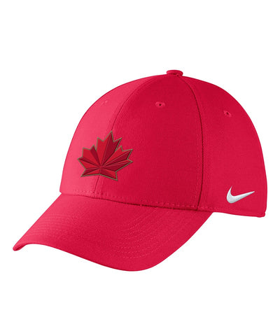 NIKE TEAM CANADA 2018 OLYMPICS YOUTH SWOOSH FLEX CAP