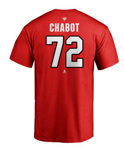 THOMAS CHABOT OTTAWA SENATORS MEN'S FANATICS NAME AND NUMBER SR T SHIRT