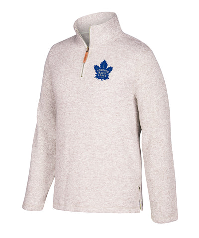 TORONTO MAPLE LEAFS CCM 1/4 ZIP LONG SLEEVE SHIRT