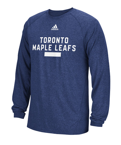 TORONTO MAPLE LEAFS ADIDAS MEN'S MARKED MAN LONG SLEEVE SHIRT