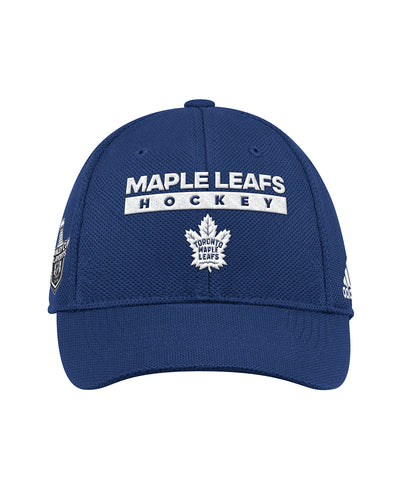 11057b72115 ... TORONTO MAPLE LEAFS ADIDAS OFFICIAL 2018 STANLEY CUP PLAYOFFS CAP