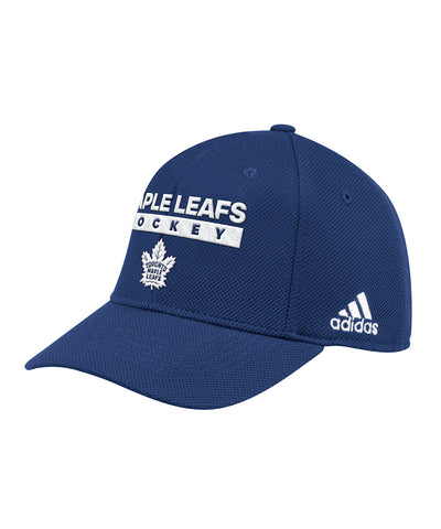 6c1d1adf9b3 TORONTO MAPLE LEAFS ADIDAS OFFICIAL 2018 STANLEY CUP PLAYOFFS CAP ...