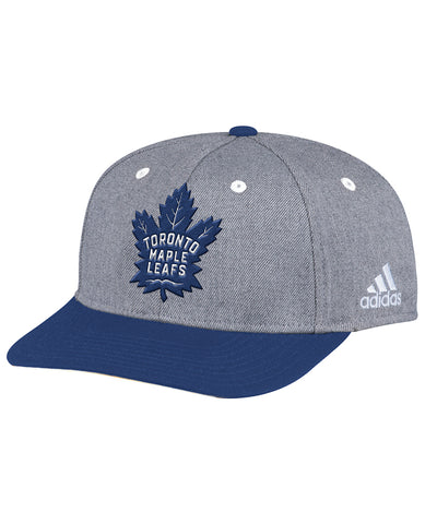 a6232cc71aa TORONTO MAPLE LEAFS ADIDAS TWO TONE STRUCTURED ADJUSTABLE HAT ...