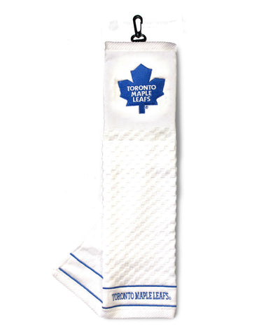 TORONTO MAPLE LEAFS EMBROIDERED GOLF CLUB TOWEL