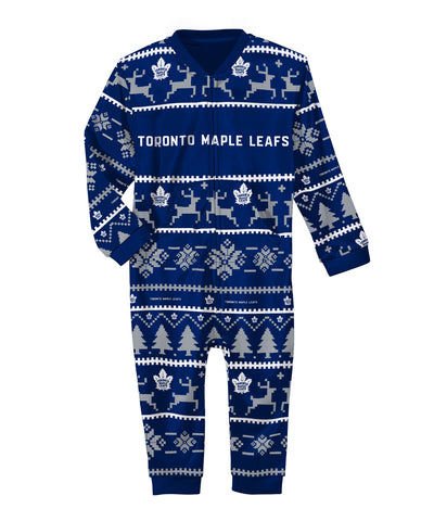 TORONTO MAPLE LEAFS KIDS PAJAMA ONESIE