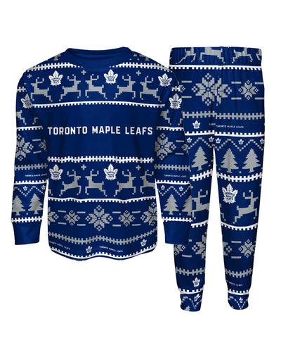 TORONTO MAPLE LEAFS KIDS PAJAMA CREWNECK SET