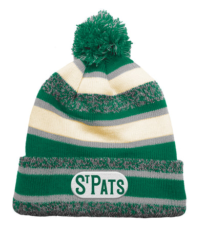 TORONTO ST. PATS CCM FLEECE KNIT POM TOQUE