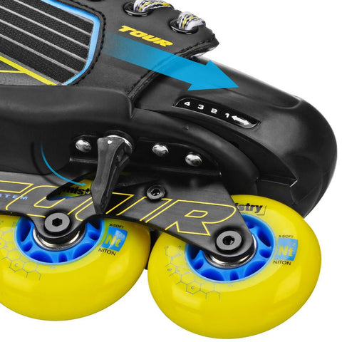 TOUR CODE 9.ONE ADJUSTABLE YOUTH ROLLER BLADES
