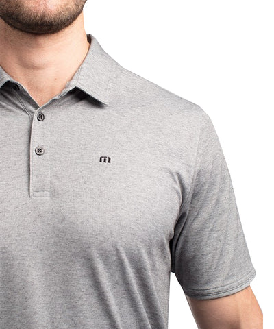 TRAVIS MATHEW MEN'S CLASSY POLO - BLACK