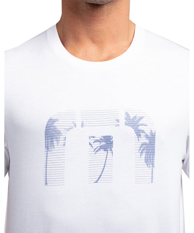 TRAVIS MATHEW MEN'S JUST A BIT OUTSIDE T SHIRT