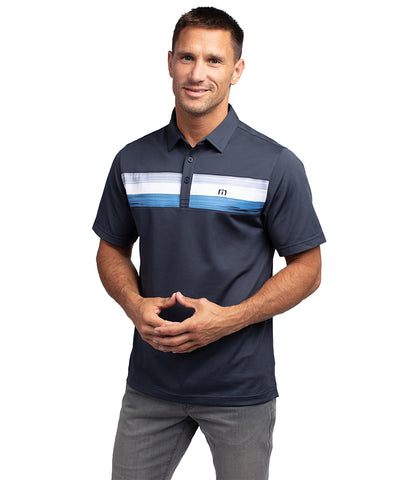 TRAVIS MATHEW MEN'S OH LIFE POLO