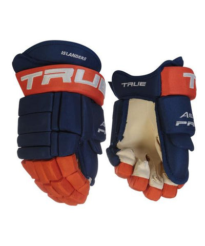 TRUE A6.0 SBP PRO STOCK HOCKEY GLOVES - NEW YORK ISLANDERS