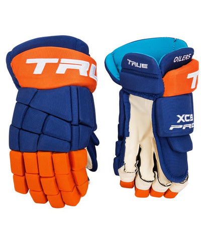 TRUE XC9 PRO STOCK HOCKEY GLOVES - NEW YORK ISLANDERS