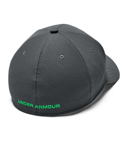 UNDER ARMOUR MEN'S BLITZING 3.0 HAT - CHARCOAL/GREEN