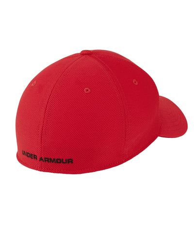 UNDER ARMOUR MEN'S BLITZING 3.0 HAT - RED/BLACK