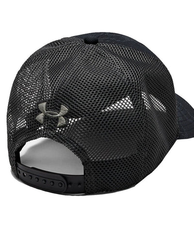 UNDER ARMOUR MEN'S BLITZING TRUCKER 3.0 HAT - BLACK