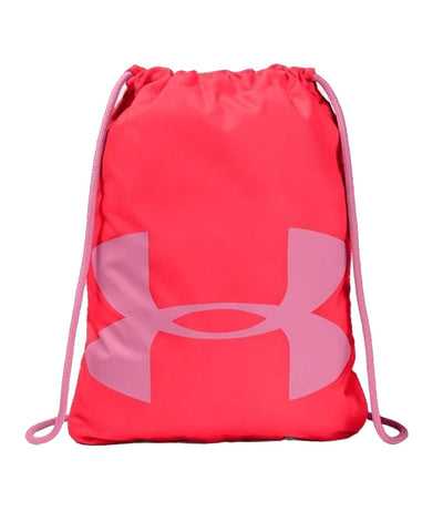 UNDER ARMOUR OZSEE SACKPACK - RED/PINK