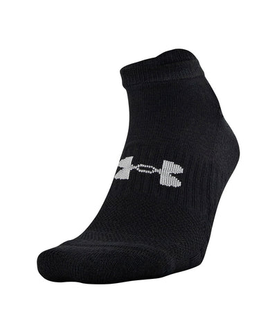 UNDER ARMOUR MEN'S TRAINING NO SHOW SOCKS 6 PACK - GREY