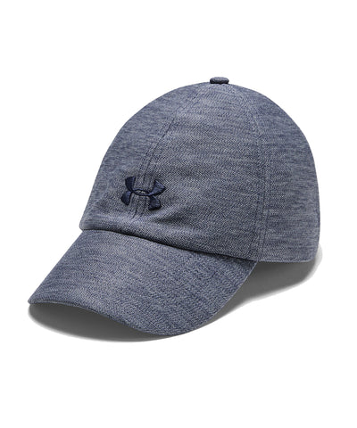 UNDER ARMOUR WOMEN'S HEATHERED PLAY UP HAT - NAVY