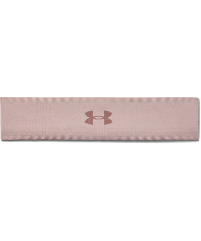 UNDER ARMOUR WOMEN'S JACQUARD PERFECT HEADBAND - PINK