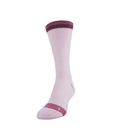 UNDER ARMOUR WOMEN'S PHENOM CREW SOCKS 3 PACK - PINK