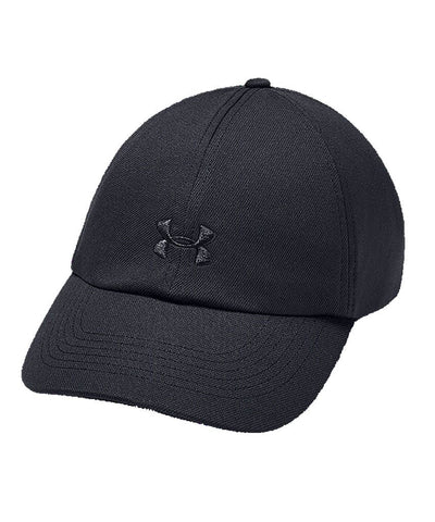 UNDER ARMOUR WOMEN'S PLAY UP HAT - BLACK