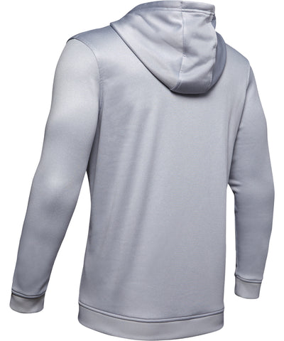 UNDER ARMOUR AF PO BIG LOGO GRAPHIC MEN'S HOODIE - GREY