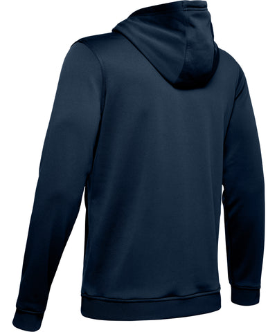 UNDER ARMOUR AF PO BIG LOGO GRAPHIC MEN'S HOODIE - NAVY