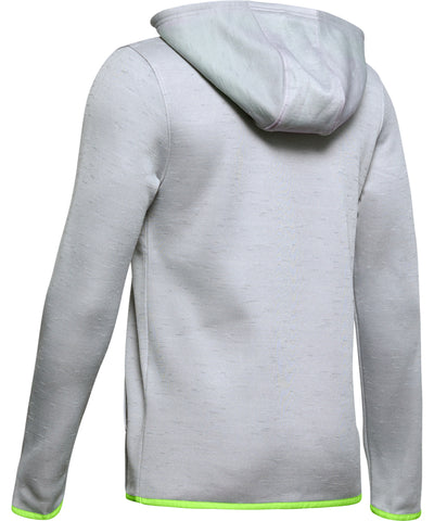 UNDER ARMOUR ARMOUR FLEECE BRANDED KID'S HOODIE - GREY