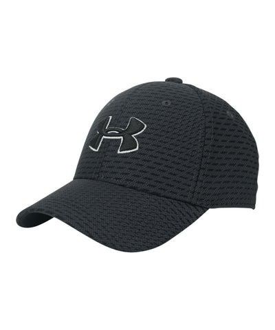 UNDER ARMOUR BOY'S PRINTED BLITZING 3.0 CAP - GREY