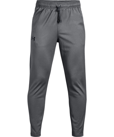 UNDER ARMOUR KID'S BRAWLER TAPERED PANTS - GREY