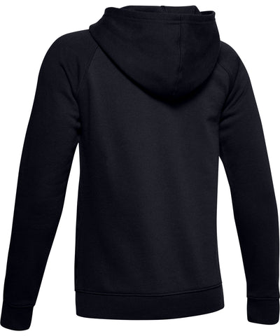 UNDER ARMOUR KID'S RIVAL LOGO HOODIE - BLACK