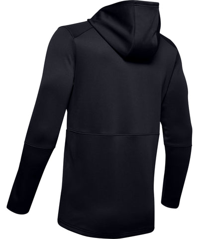 UNDER ARMOUR MEN'S MK1 WARMUP HOODIE - BLACK