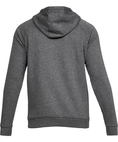 UNDER ARMOUR MEN'S RIVAL FLEECE HOODIE - CHARCOAL