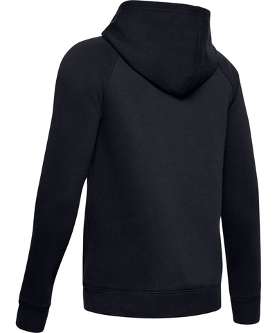 UNDER ARMOUR RIVAL KID'S HOODIE - BLACK