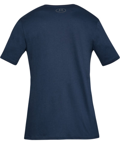 UNDER ARMOUR SPORTSTYLE LOGO MEN'S SHORT SLEEVE SHIRT - NAVY